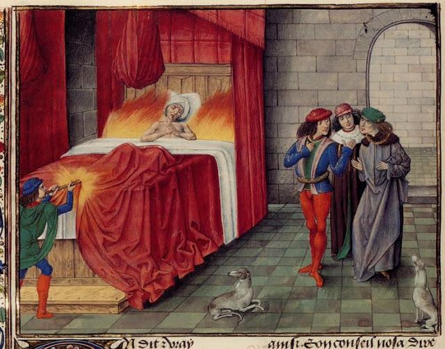 Karel II. Navarrský – smrt