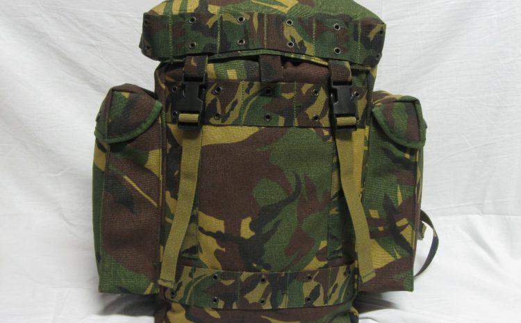 Recenze: Holandský vojenský batoh 35l DPM